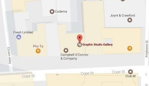 Graphic Studio Dublin map