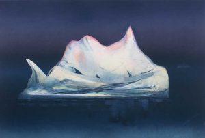 Berg Monoprint by Vincent Sheridan 1990s