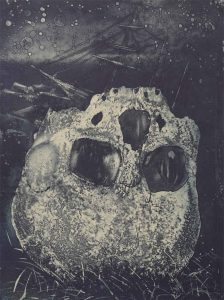 Starvation Cove etching by Vincent Sheridan