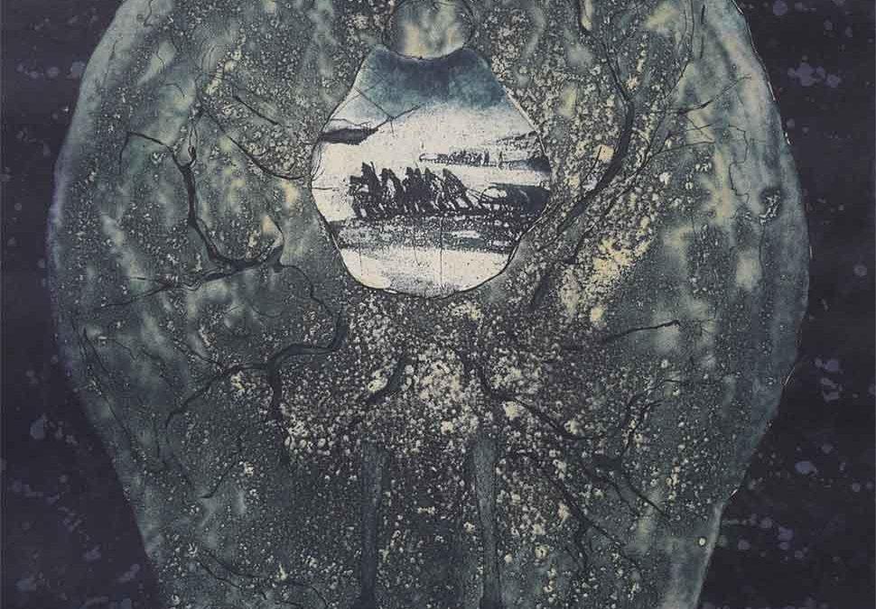 Tera Nova etching by VIncent Sheridan
