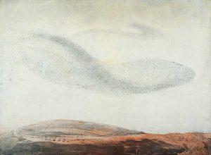 Vincent Sheridan print etchin Murmuration II
