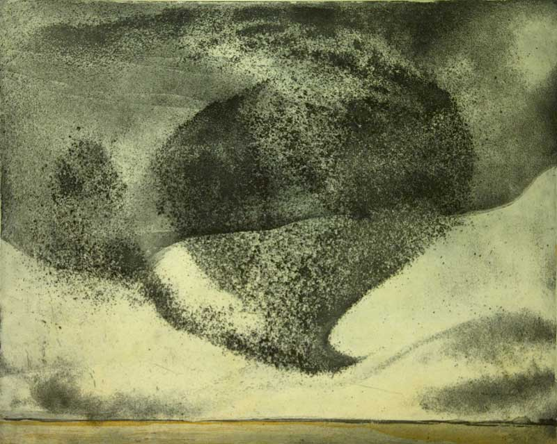 Vincent Sheridan print etching Tempest