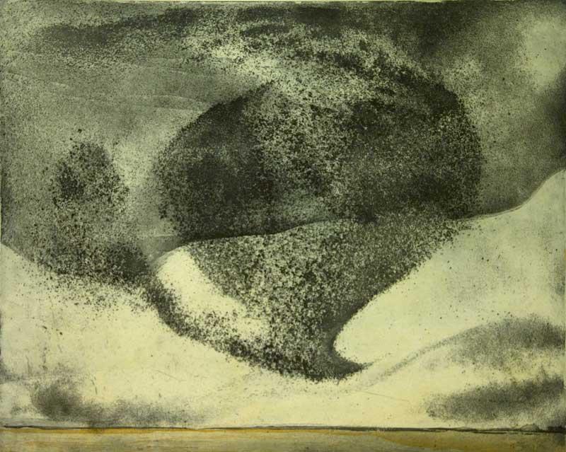 Vincent Sheridan print etching Tempest